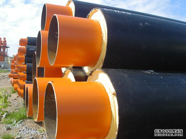 Polyurethane insulation steel pipe