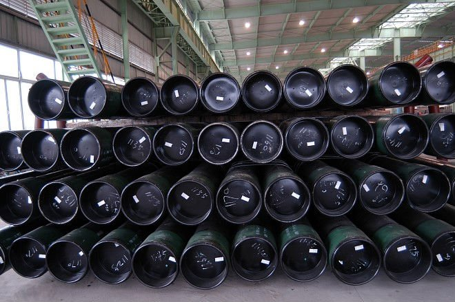 Steel casing and tube